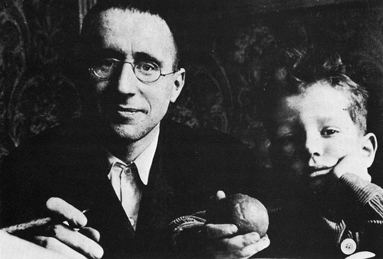 Brecht and Stefan